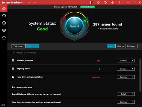Iolo System Mechanic Review & Rating | PCMag