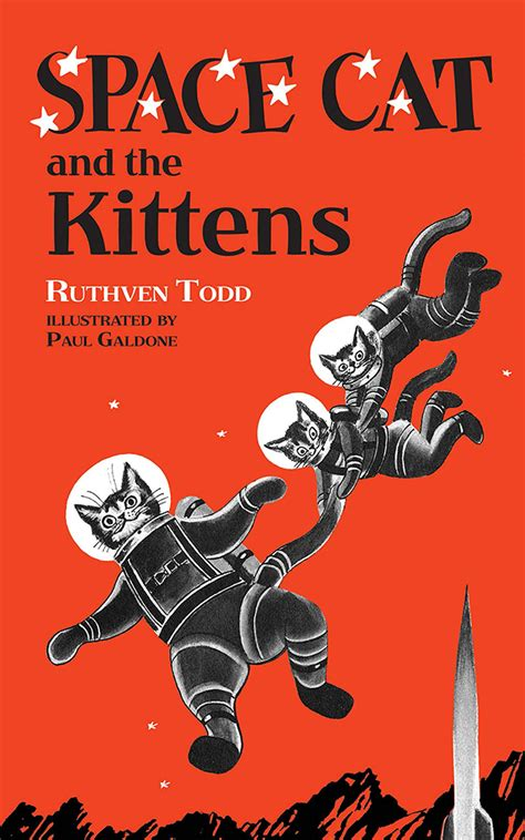 Space Cat Vintage Sci-fi Children's Books from the 1950s