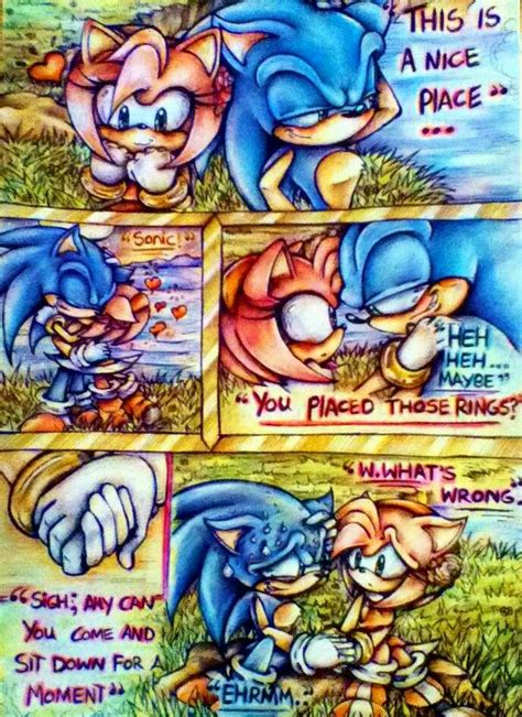 Sonamy proposal comic 4 | Sonic and amy, Shadow and amy