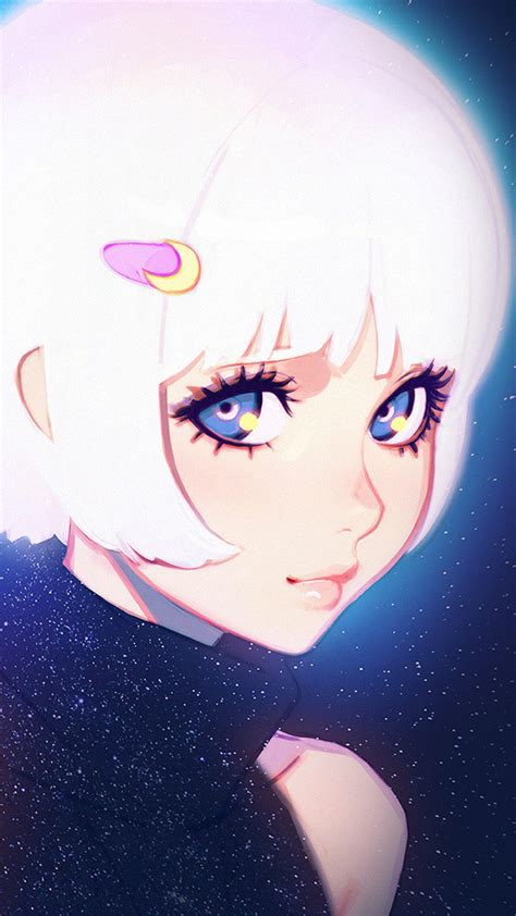 ax55-ilya-kuvshinov-illustration-art-girl-dark-white-hair