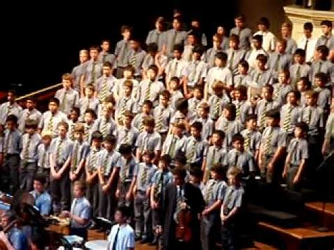 Non Nobis Domine by Epping Boys High School - YouTube