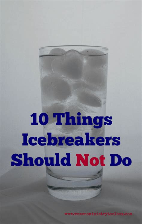 Icebreakers Archives - Women's Ministry Toolbox