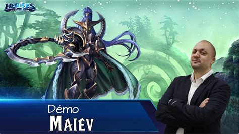 [HotS] Découverte Gameplay Maiev - YouTube