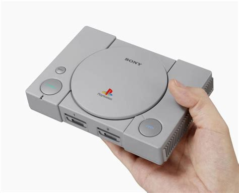 Sony to release miniature version of original PlayStation