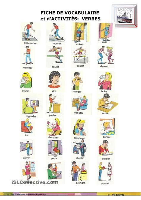 680 best images about French verbs on Pinterest | Verb