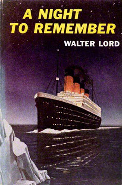 A Night to Remember (book) - Titanic