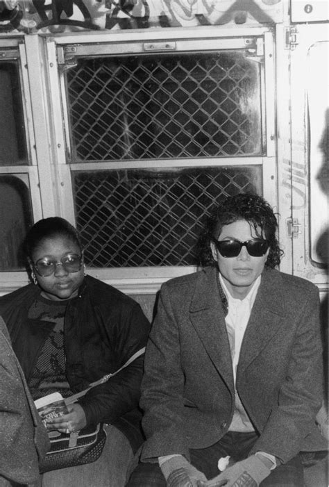 Michael Jackson Films The Video For Bad In 1986 Brooklyn