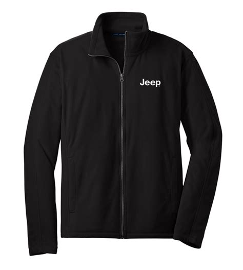 All Things Jeep - Jeep Embroidered Fleece Full Zip Jacket