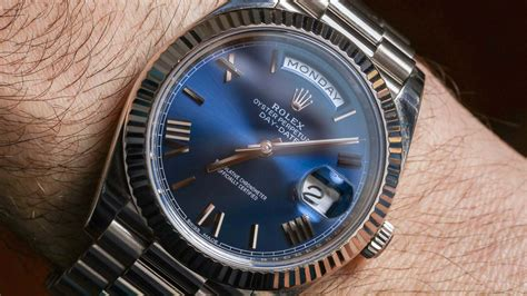 Rolex Day-Date 40 'President' Watch Review | aBlogtoWatch